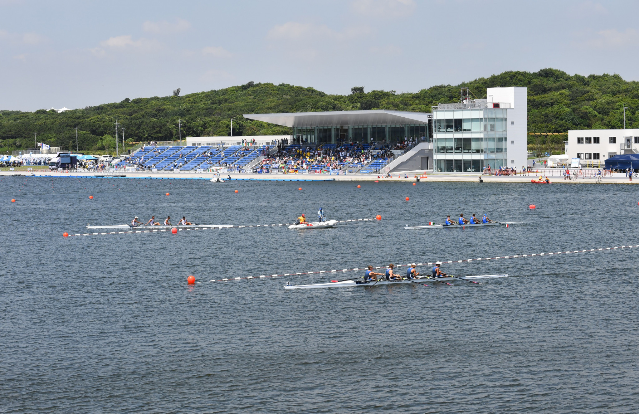 World's best time set at World Rowing Junior Championships and Olympic test event in Tokyo