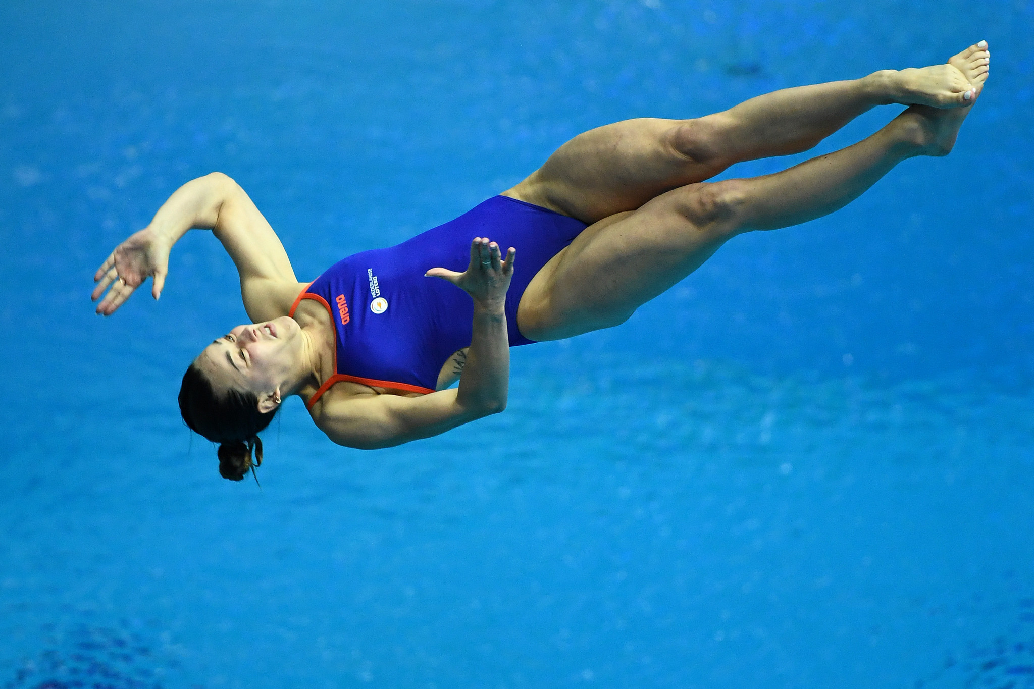 The Netherlands have received a quota place for the women's 3 metre springboard event at Tokyo 2020 after Inge Jansen claimed victory at the European Diving Championships in Kiev ©Getty Images