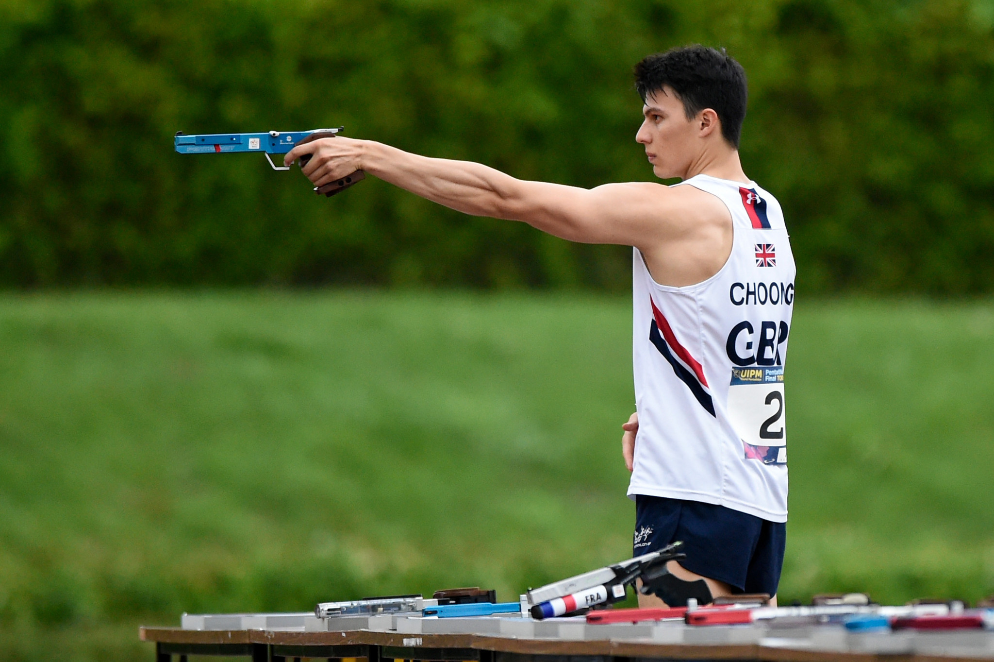 British hopefuls impress on home soil in European Modern Pentathlon men's qualification