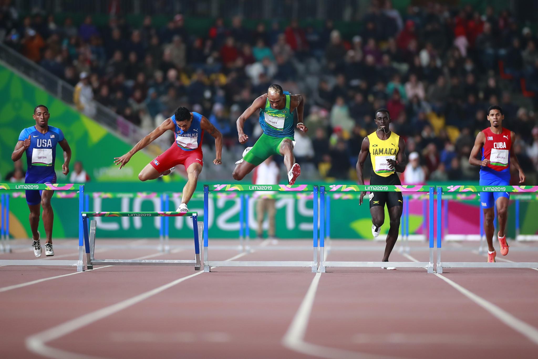 Santos stumbles in hurdles as athletics continues at Lima 2019
