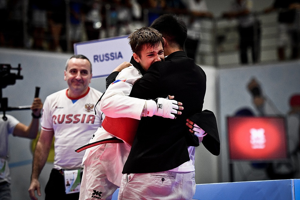 Russia's Ramazan Ramazanov came out on top in the men's under-53kg category ©World Taekwondo