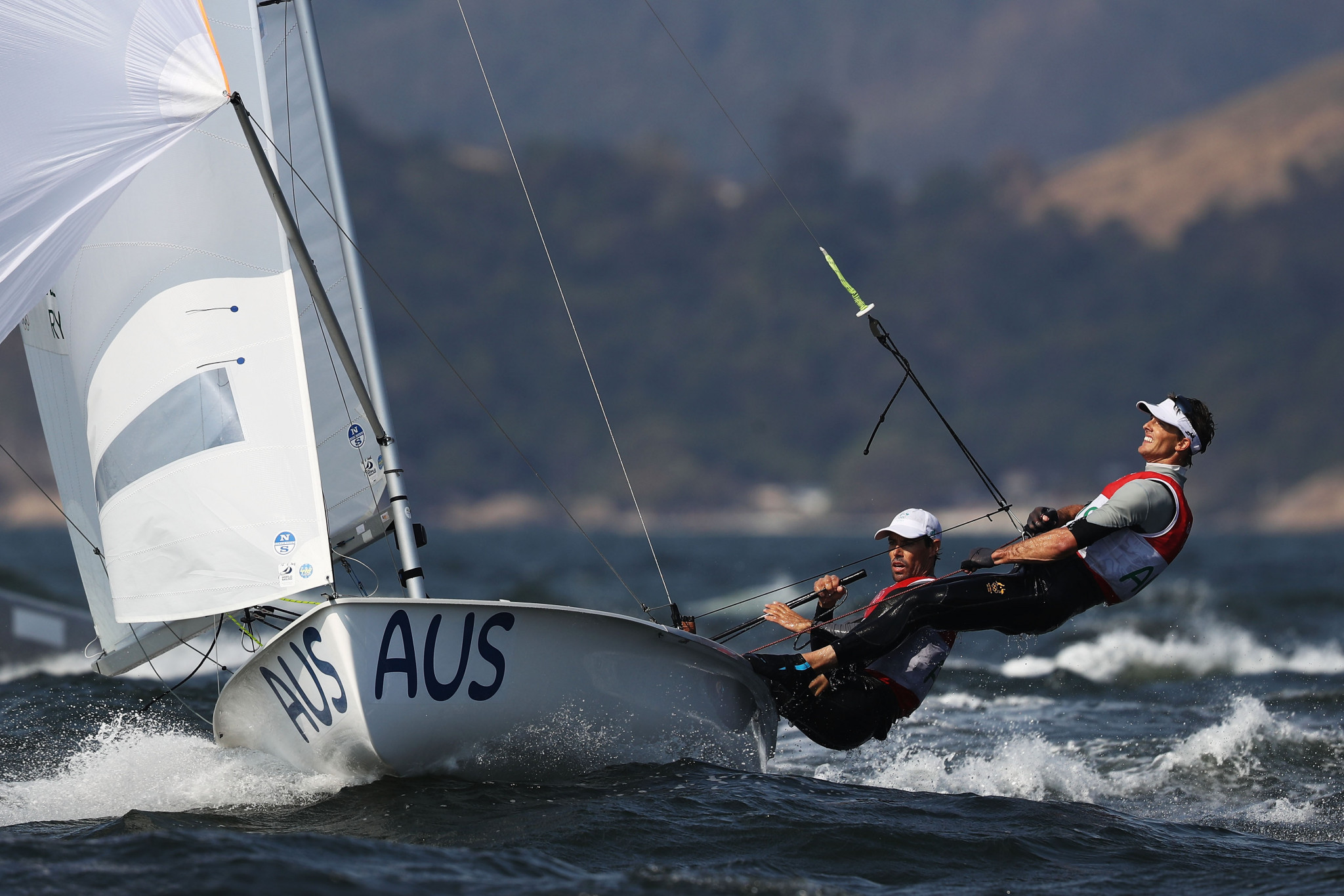 Australia's Mat Belcher and Will Ryan claimed the gold medal in the men's event ©Getty Images