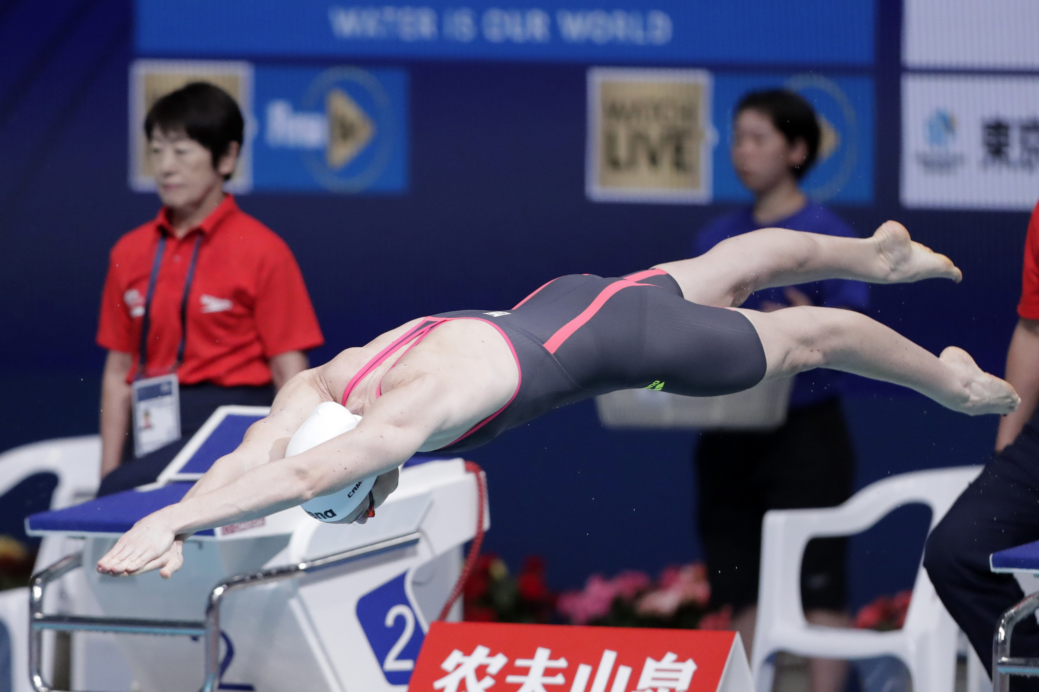 Cate Campbell of Australia won the women's 50m butterfly event ©Getty Images