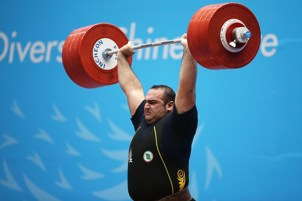 London 2012 Olympic gold medallist ruled out of 2015 World Weightlifting Championships