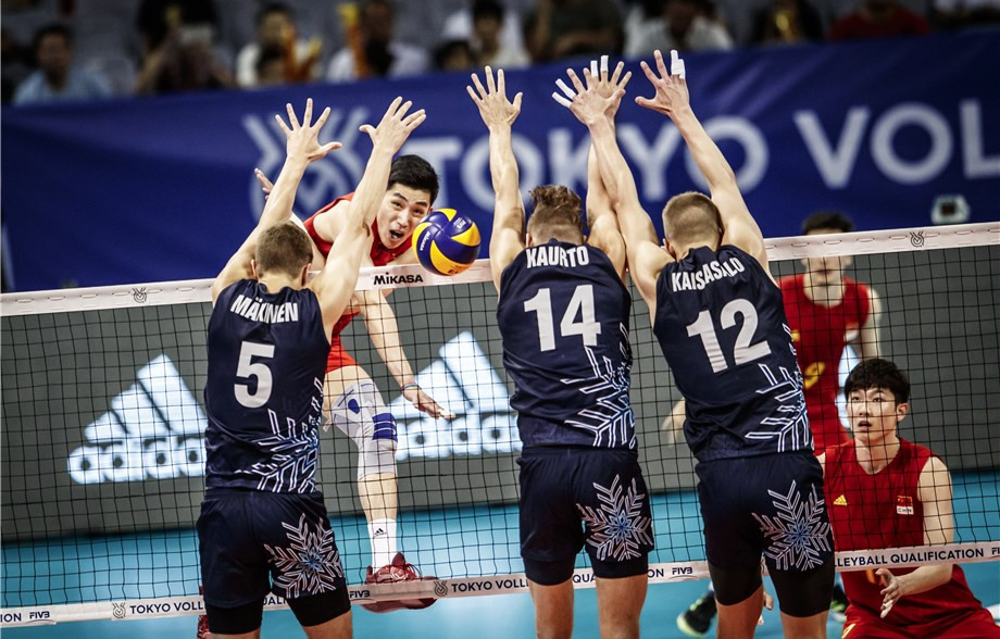 China start FIVB Men's International Olympic Qualification Tournament with victory