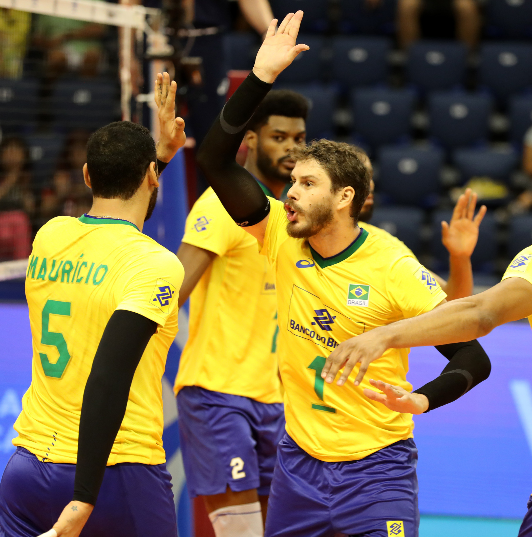 Brazil opened their Pool A account with victory over Puerto Rico ©FIVB