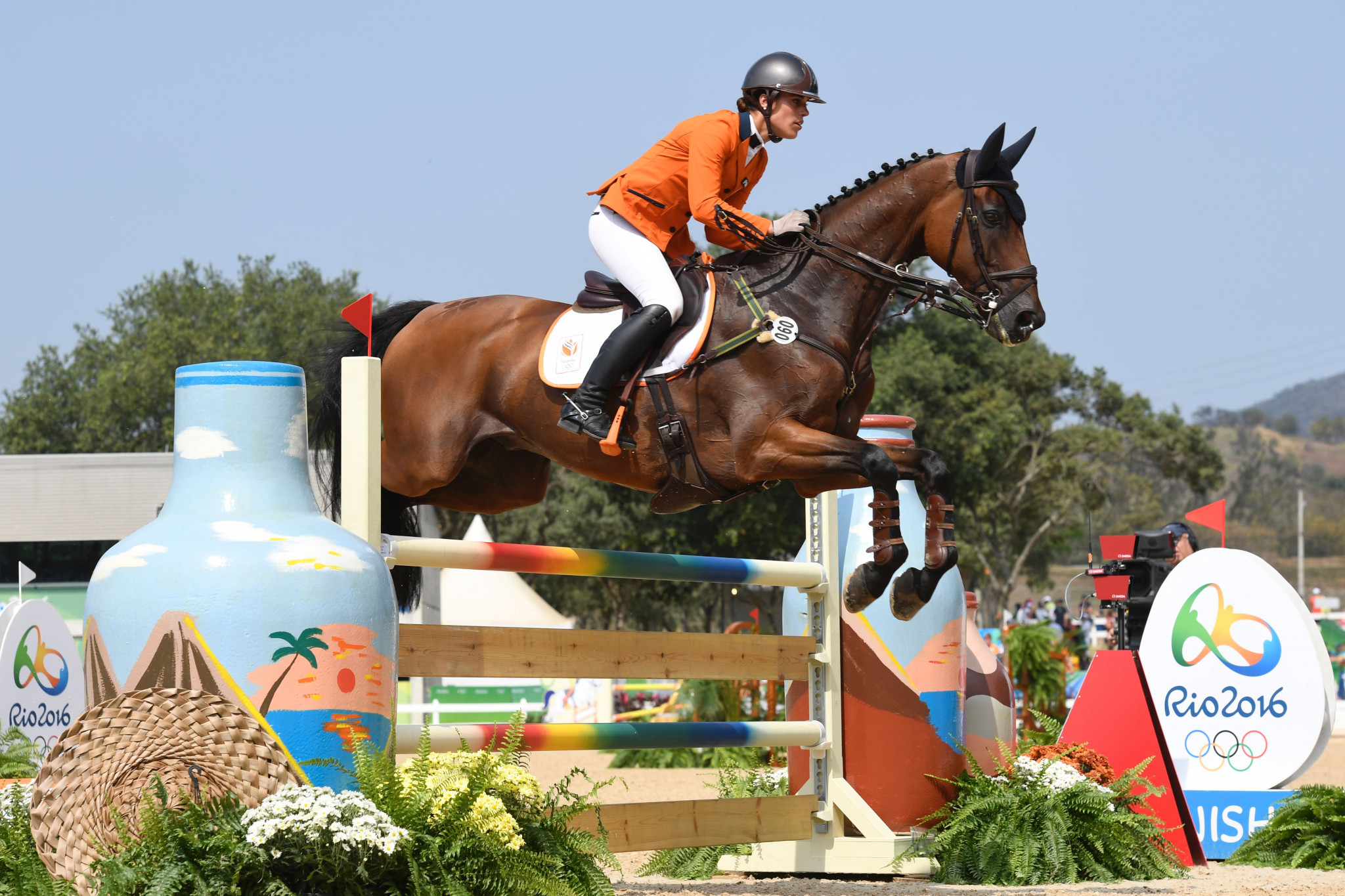 Netherlands top dressage standings at FEI Eventing Nations Cup