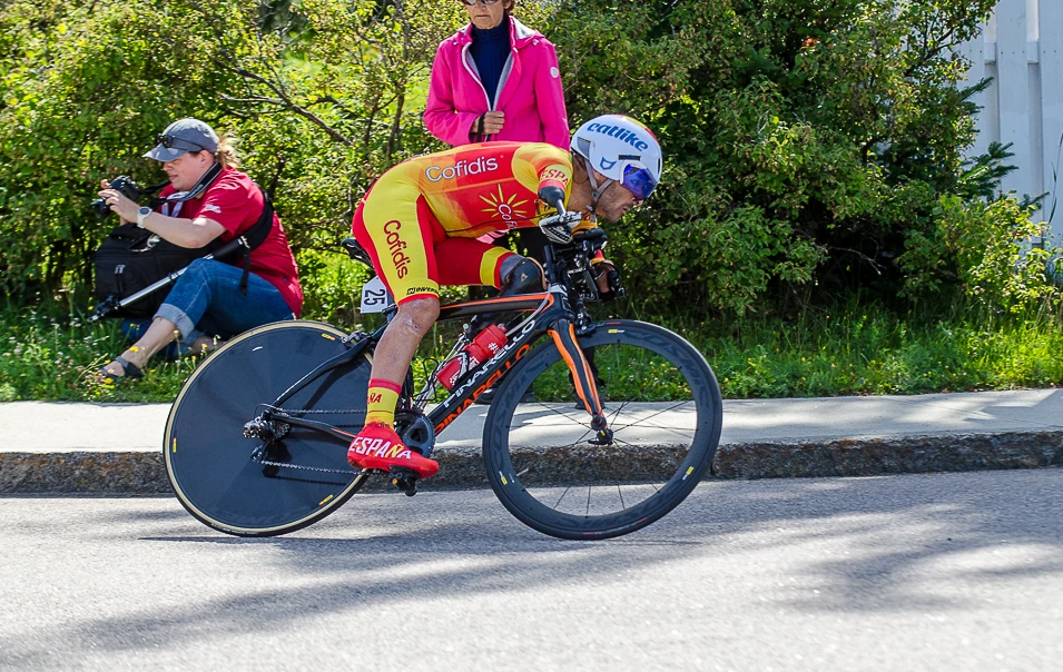 The second day of time trials at the UCI Para-cycling Road World Cup took place in Baie-Comeau today ©UCI