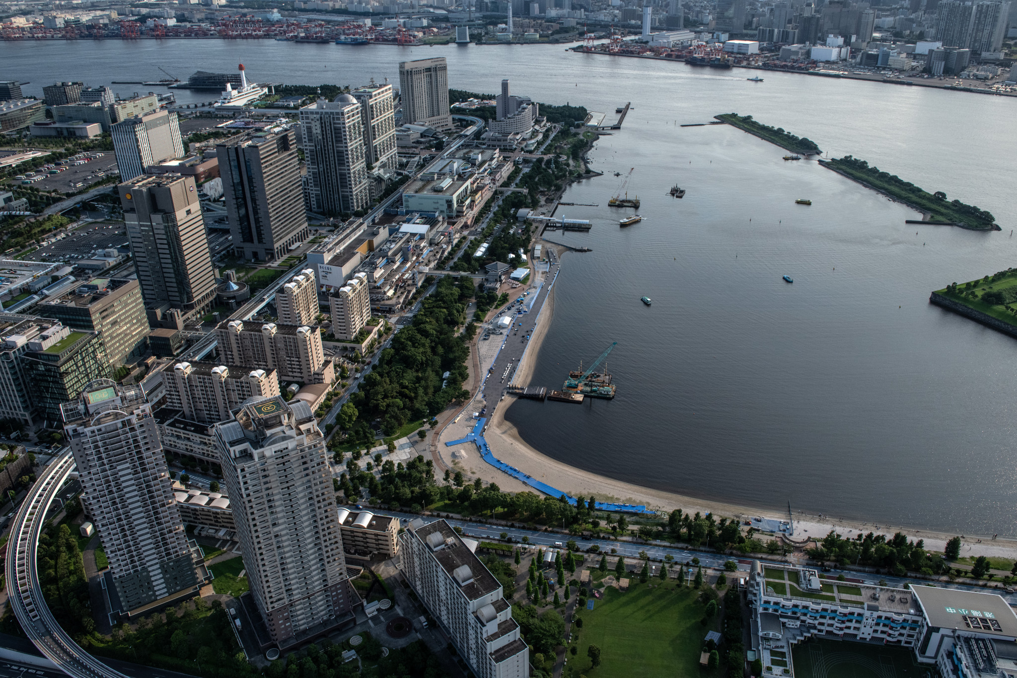 Water quality main concern as Tokyo 2020 prepare to host open water swimming test event