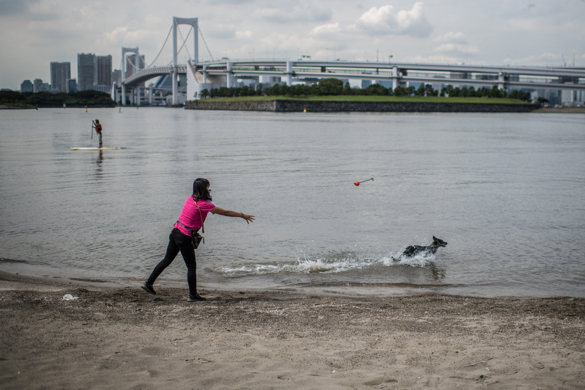 Tokyo 2020 will be keeping a close eye on the water quality during tomorrow's test event ©Getty Images