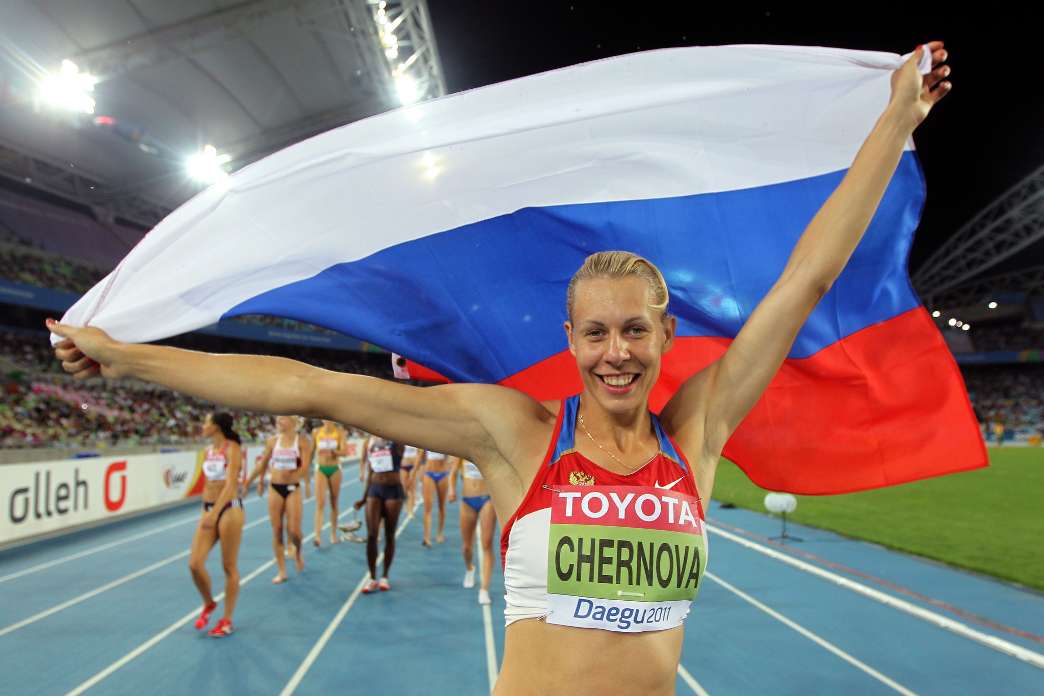 Analysis of Russian doping finds female athletes four times more likely to be banned