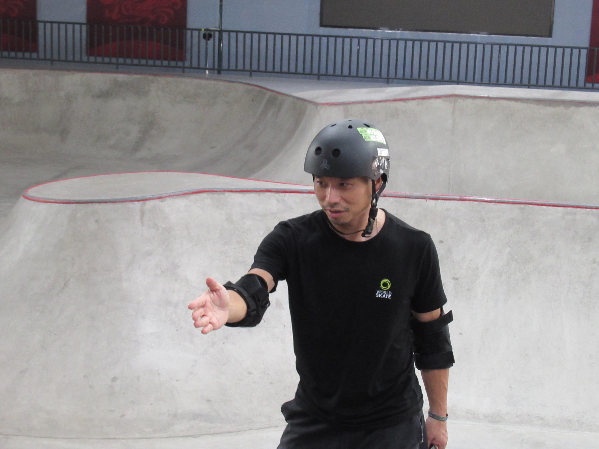 "OCA skateboarding youth camp ""featured potential 2024 Olympians"""