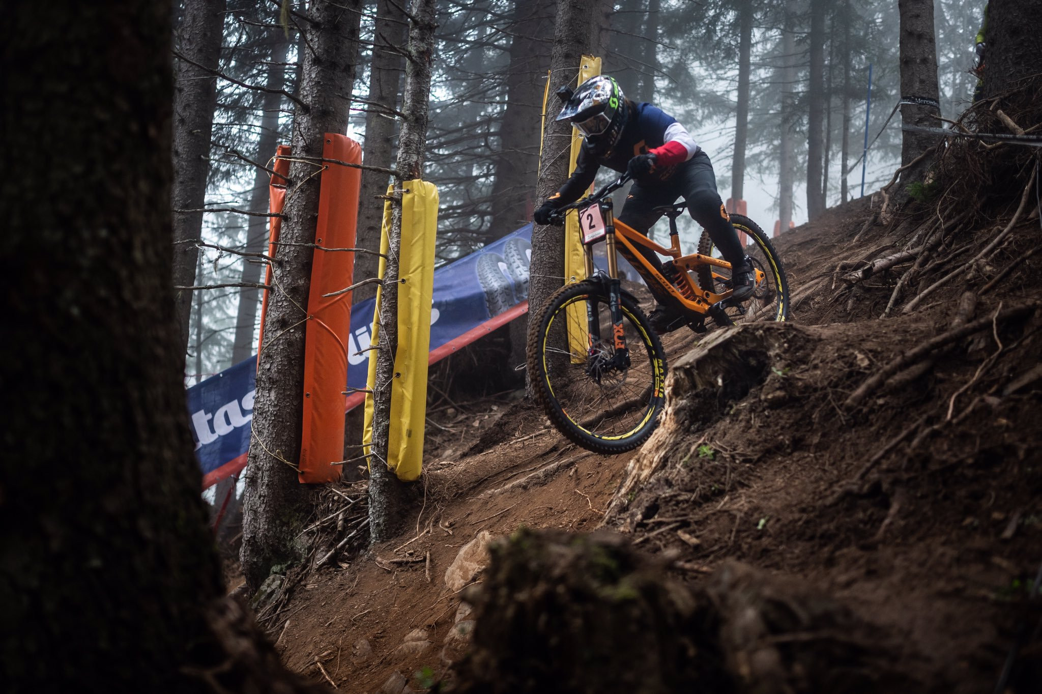 France's Marine Cabirou secured a second successive win in the women's downhill series ©UCI