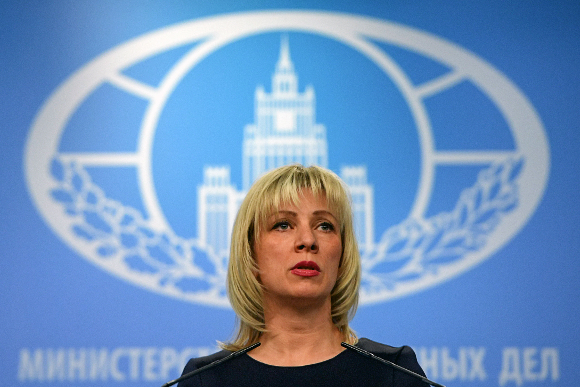 Russian Foreign Ministry Spokeswoman Maria Zakharova claimed Japan had acted