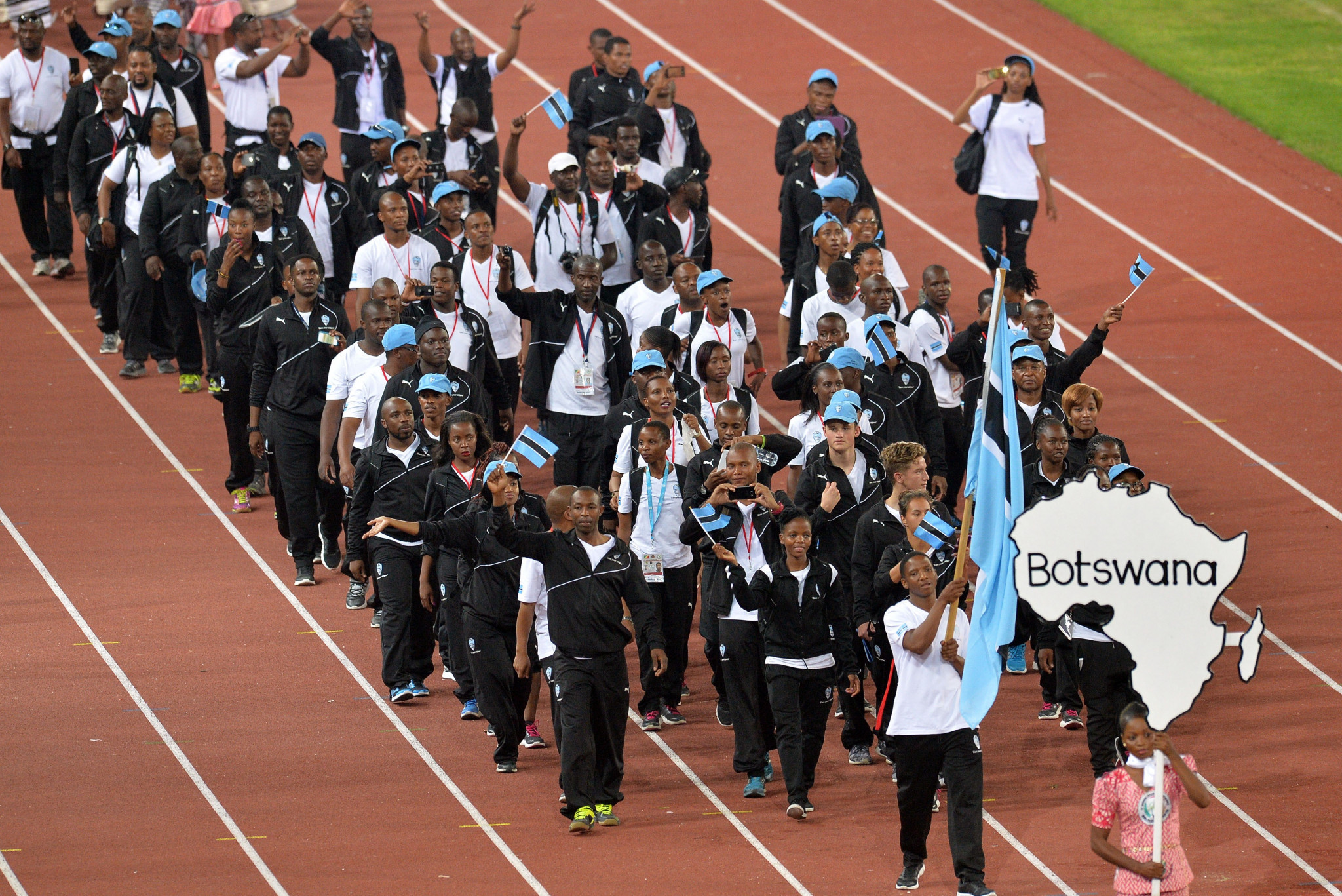Botswana's Sports Minister backs BNOC initiative to get people running for Olympic Day