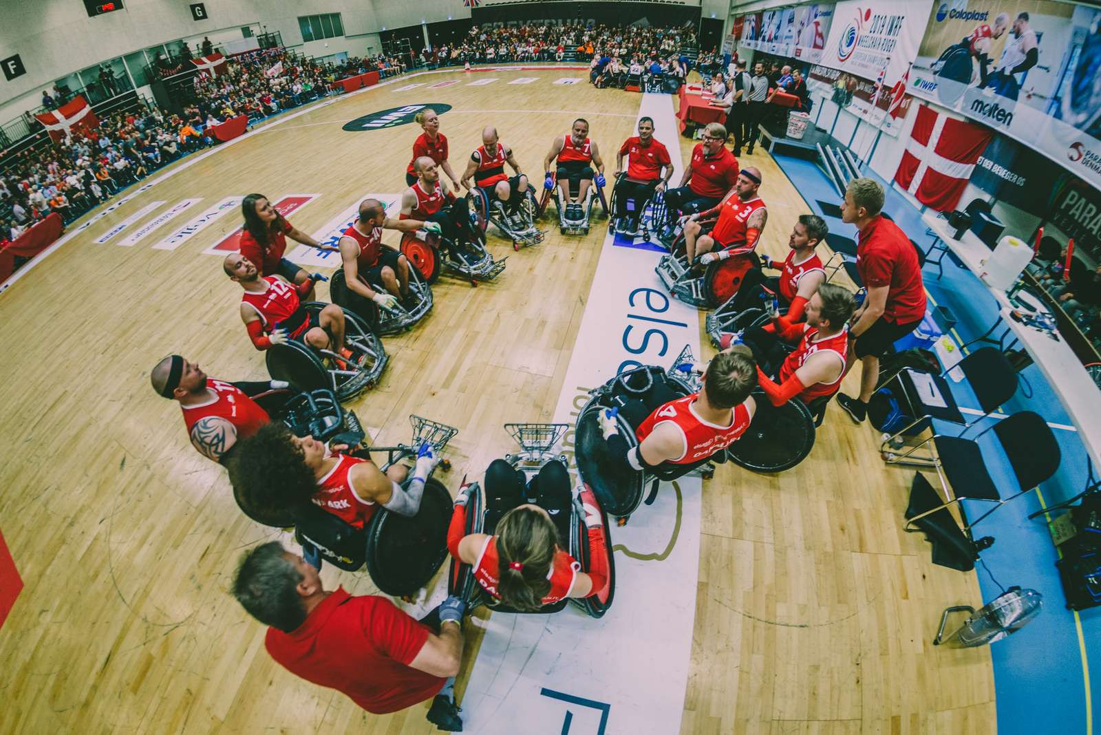 Hosts Denmark stun French at IWRF European Championship Division A to book place at Tokyo 2020