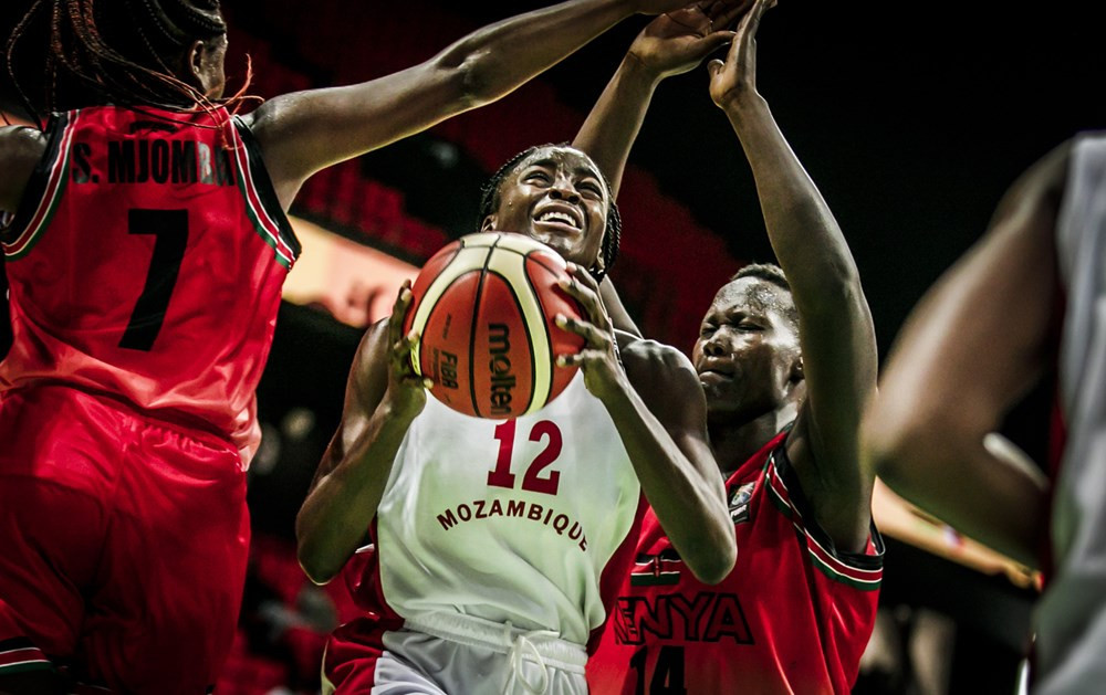 Mozambique began their quest to finally break their Women's AfroBasket duck with victory ©FIBA