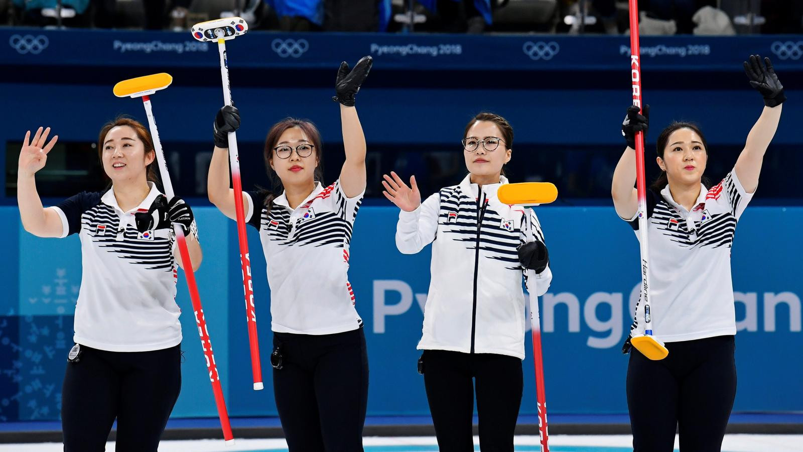 The South Korean team that won the Olympic silver medals at Pyeongchang 2018 are due to take part in the South Korea-China-Japan Women's Curling Competition now set to go ahead without a representative from Japan ©Getty Images