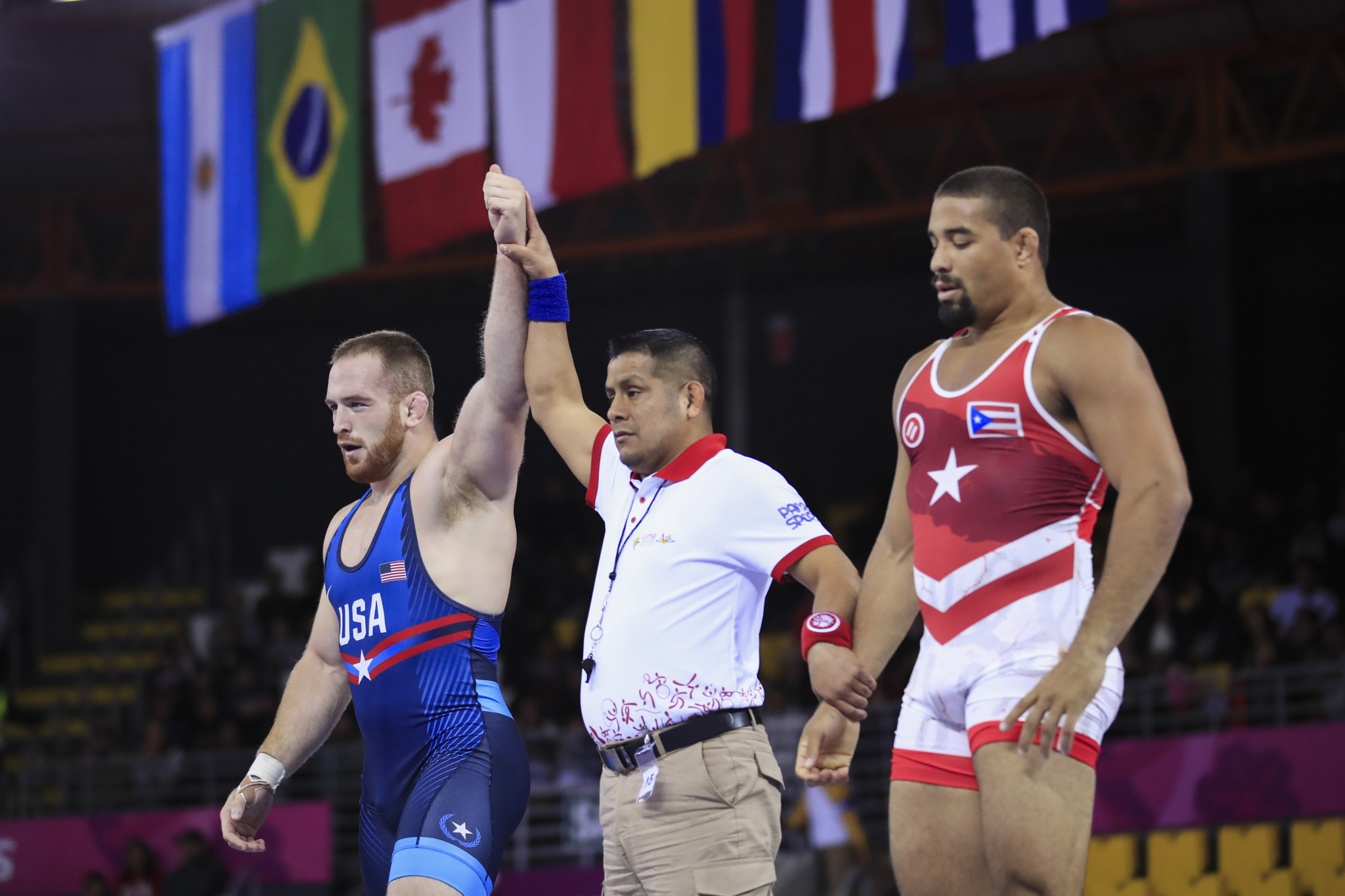 Olympic champion Snyder contributes to American golden hat-trick in Lima 2019 wrestling