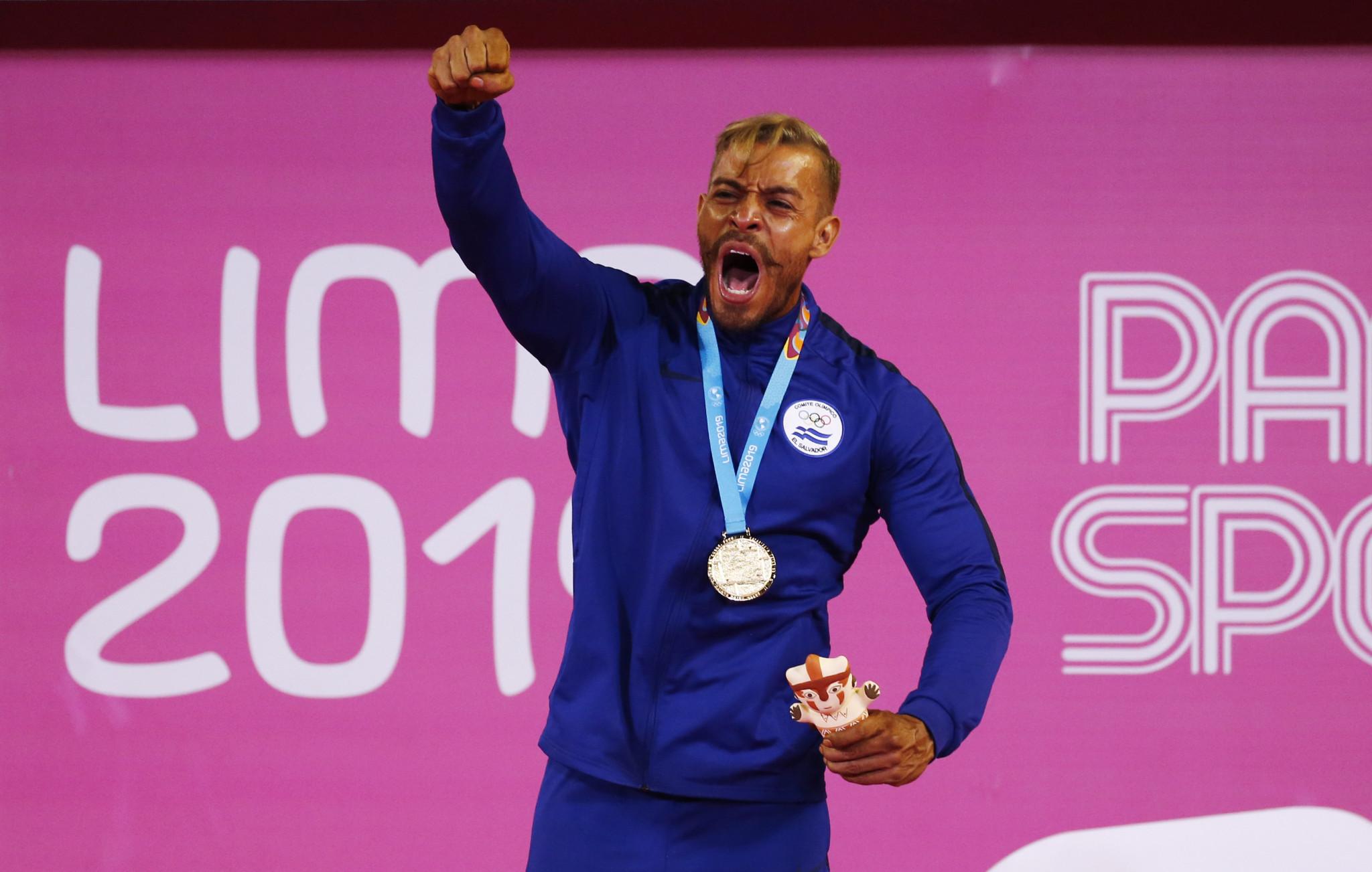 El Salvador won both golds ©Lima 2019