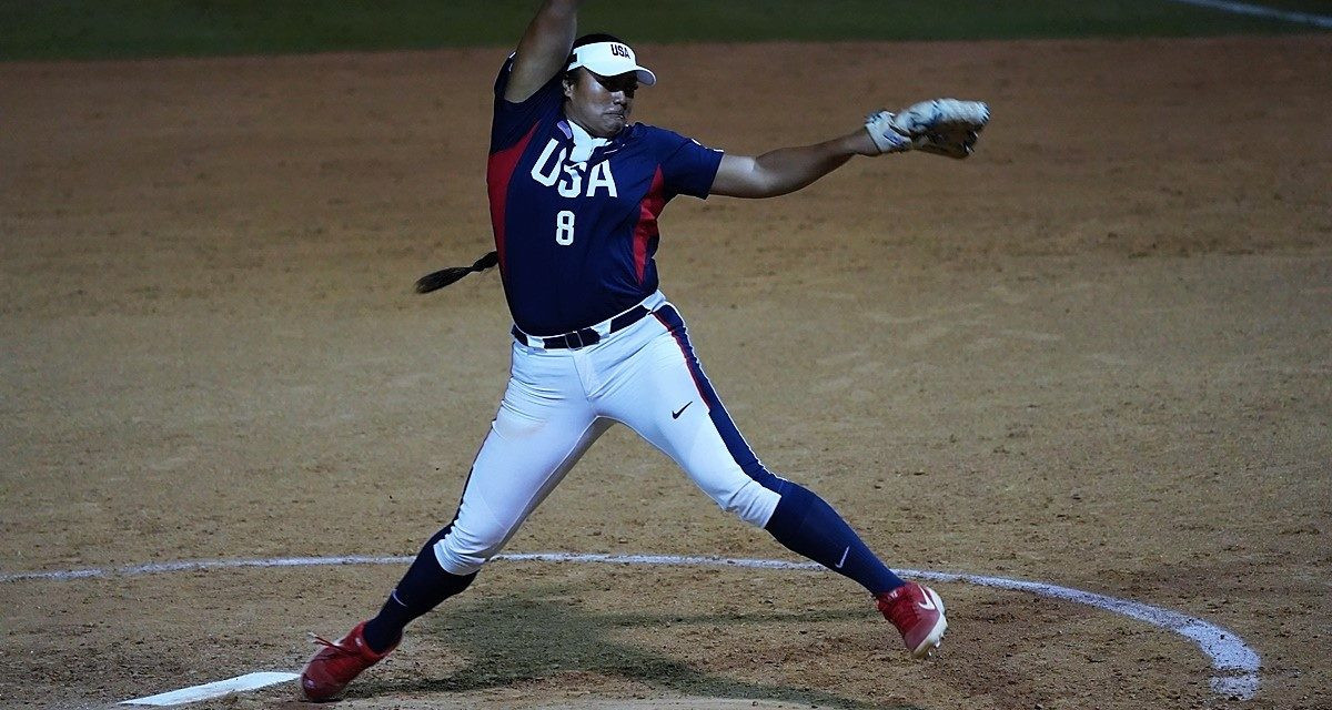 Megan Faraimo struck out every Mexican batter as the United States won 15-0 in Group A ©WBSC
