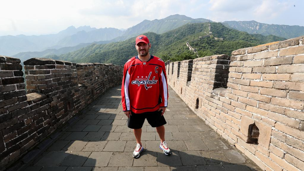 China have potential to be an ice hockey power, claims NHL star Ovechkin after visit