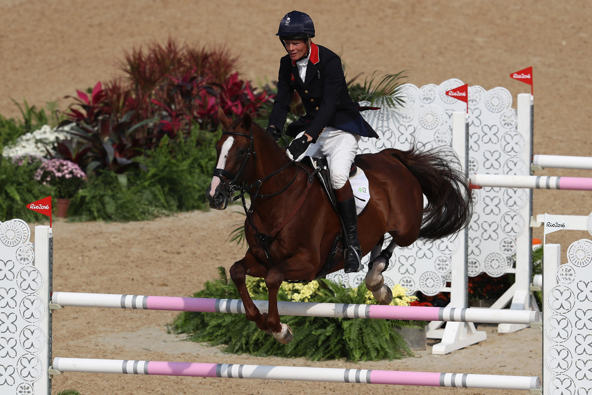 William Fox-Pitt has represented Britain at five Olympic Games ©Getty Images