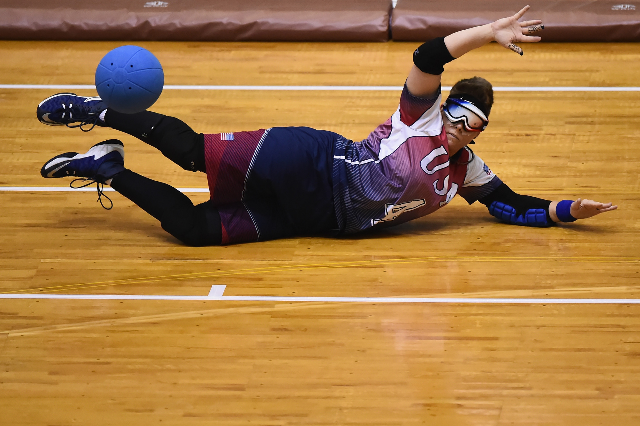 The United States women's goalball team have also been nominated ©Getty Images