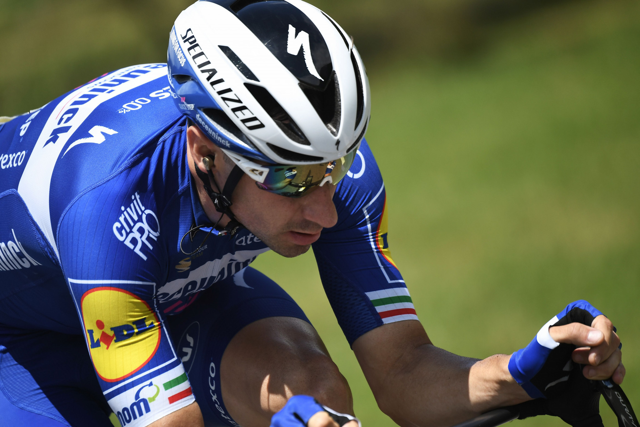 Olympic omnium champion Viviani wins European Championships men's road race