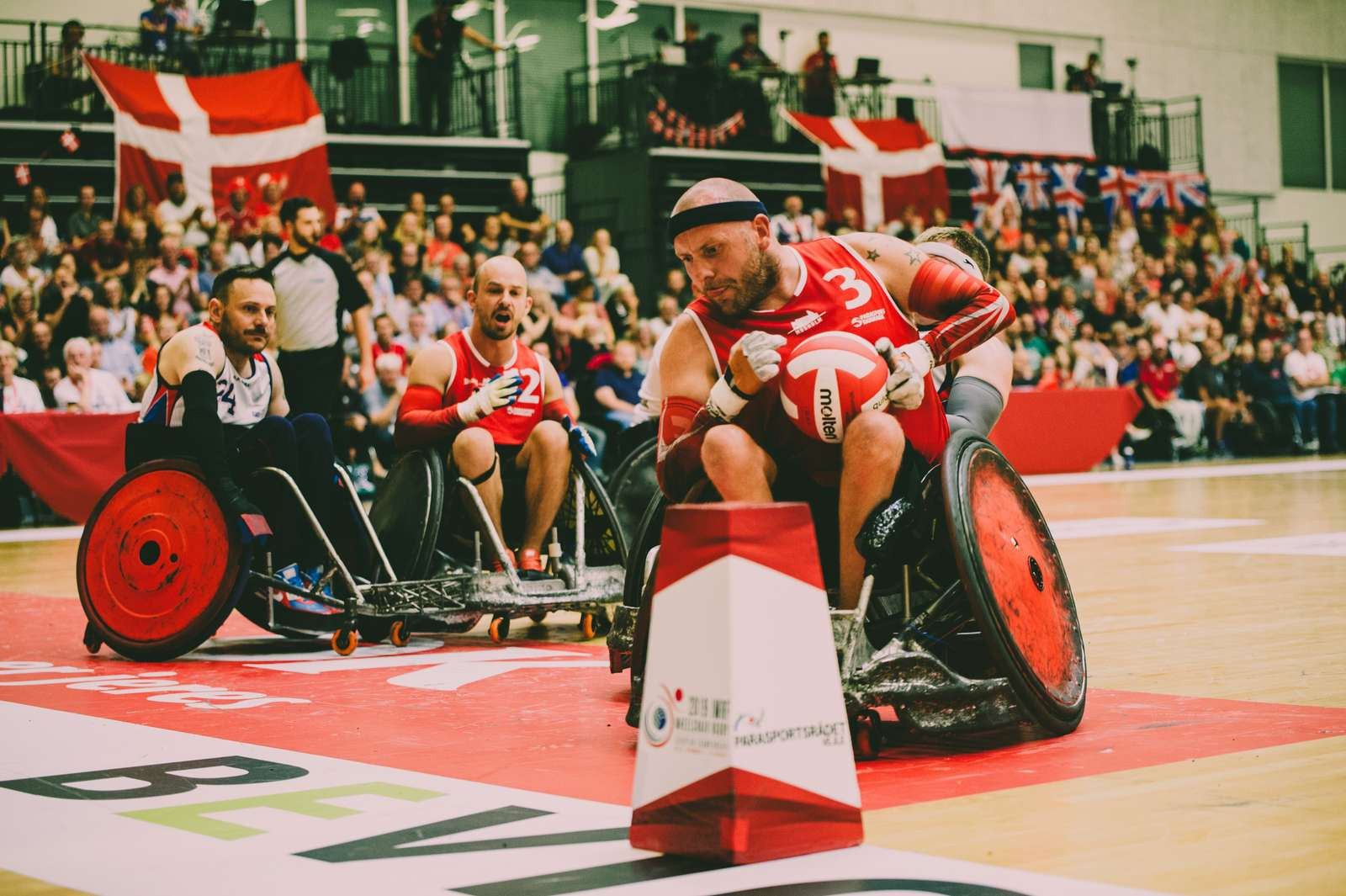 Hosts Denmark qualified for the Tokyo 2020 Paralympics despite their loss to Britain in the final ©IWRF