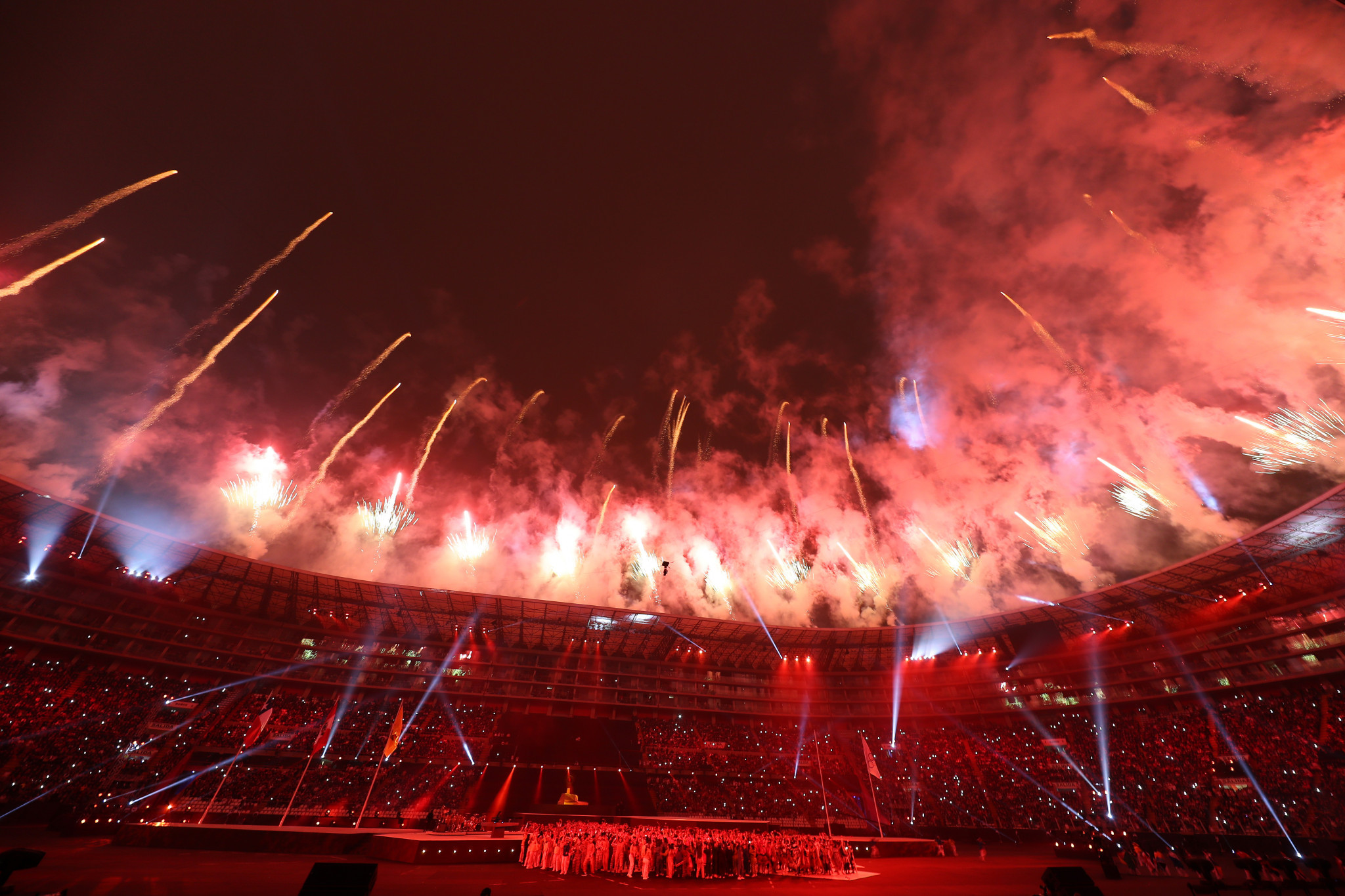 The Lima 2019 Closing Ceremony marked the end of this year's Pan American Games ©Getty Images