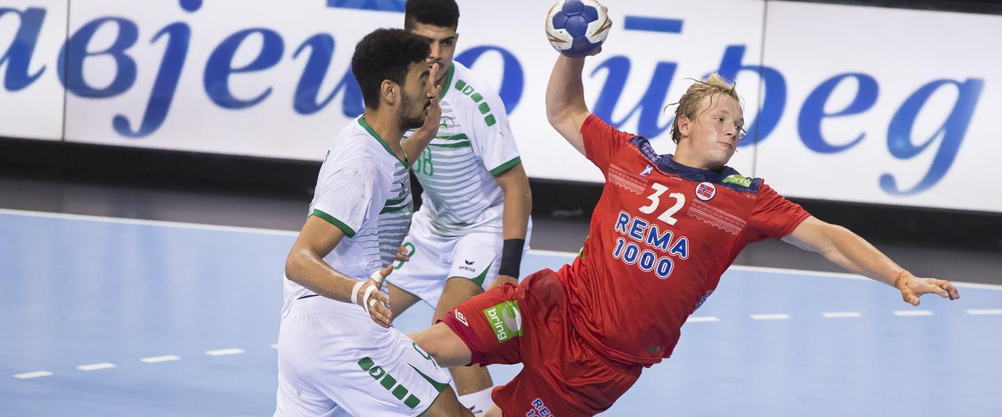 Norway have also guaranteed their sport in the knock-out rounds after a comfortable victory over Saudi Arabia ©IHF