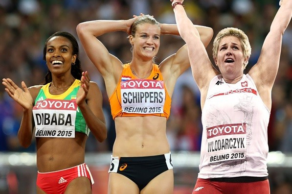 Ethiopian Genzebe Dibaba, Dafne Schippers of The Netherlands and Poland's Anita Wlodarczyk are the three finalists for the women's award