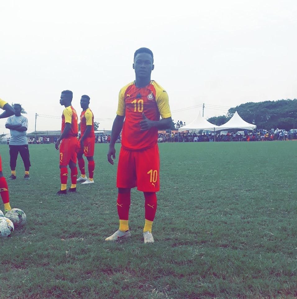 Boavista forward Emmanuel Toku will captain Ghana's men's under-20 football team at the 2019 African Games ©Emmanuel Toku #ET10/Facebook