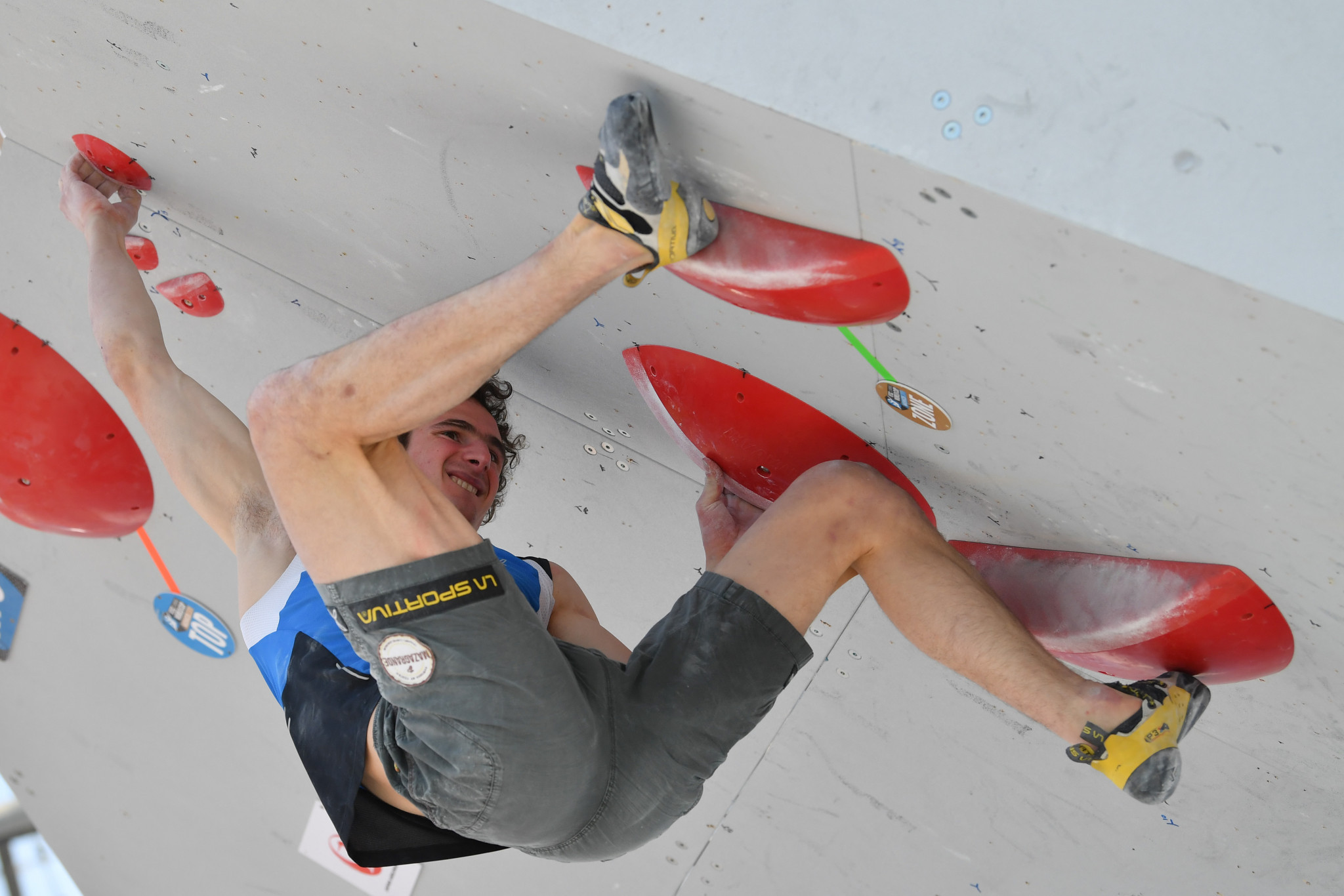Adam Ondra was the stand-out performer today in men's bouldering qualifying at the IFSC World Championships ©Getty Images