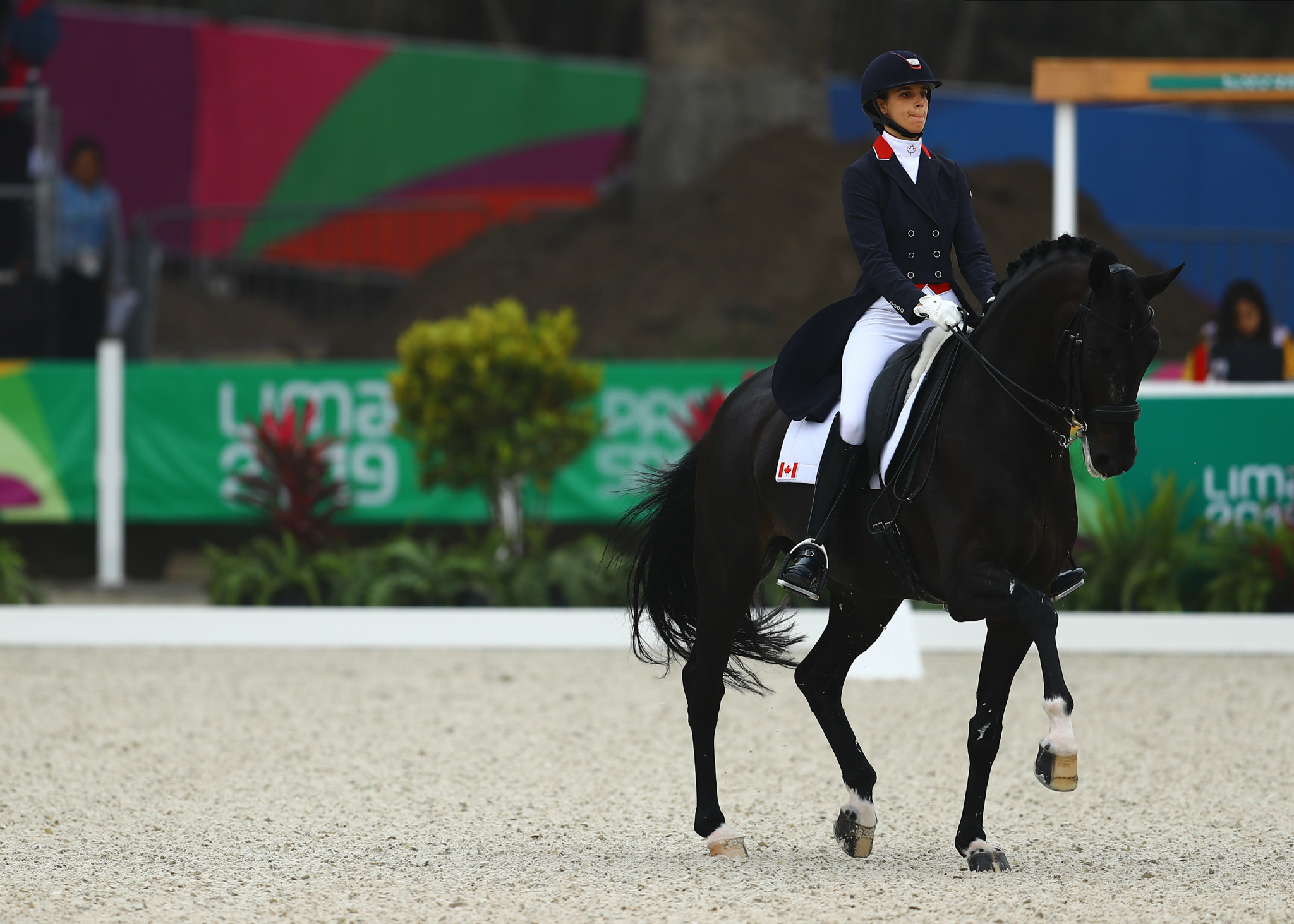 The FEI have reportedly expressed interest in staging competitions in Lima after the Pan American Games ©Getty Images