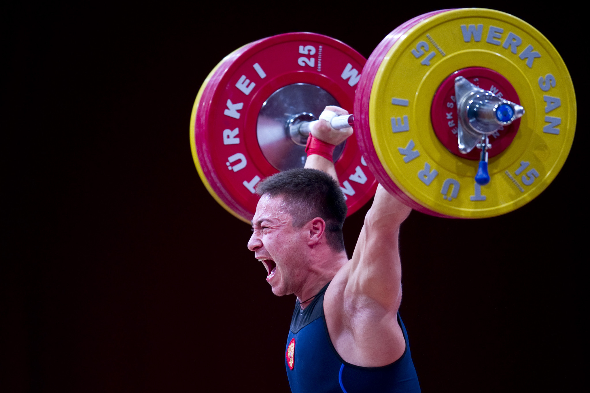 Oleg Chen has also been provisionally suspended by the IWF ©Getty Images