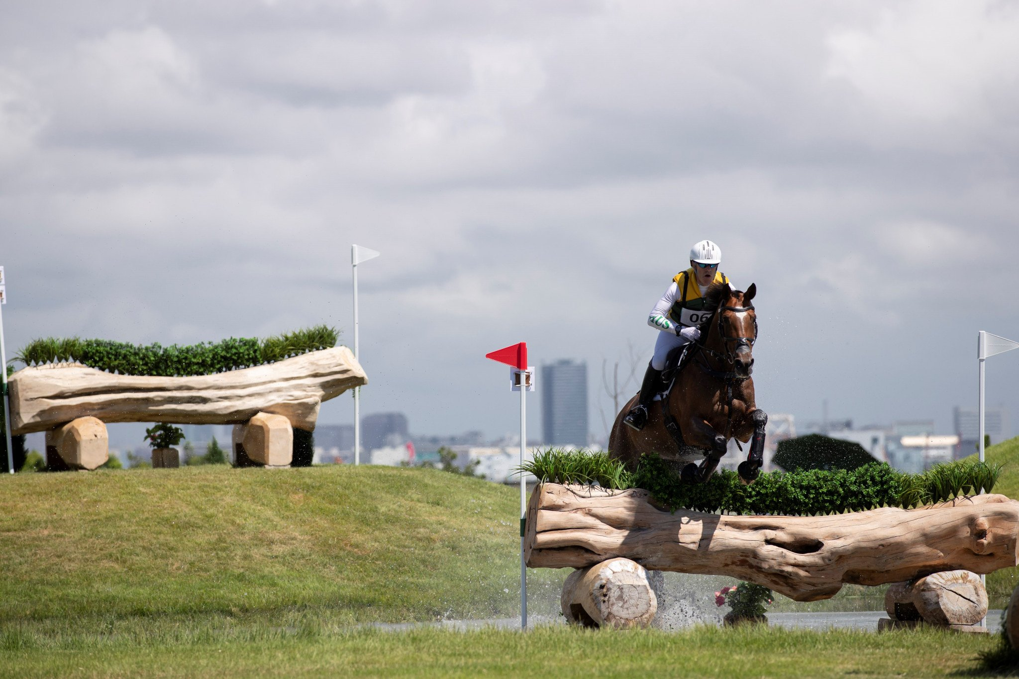Triple Olympic gold medallist Hoy takes lead after cross-country phase of Tokyo 2020 eventing test event