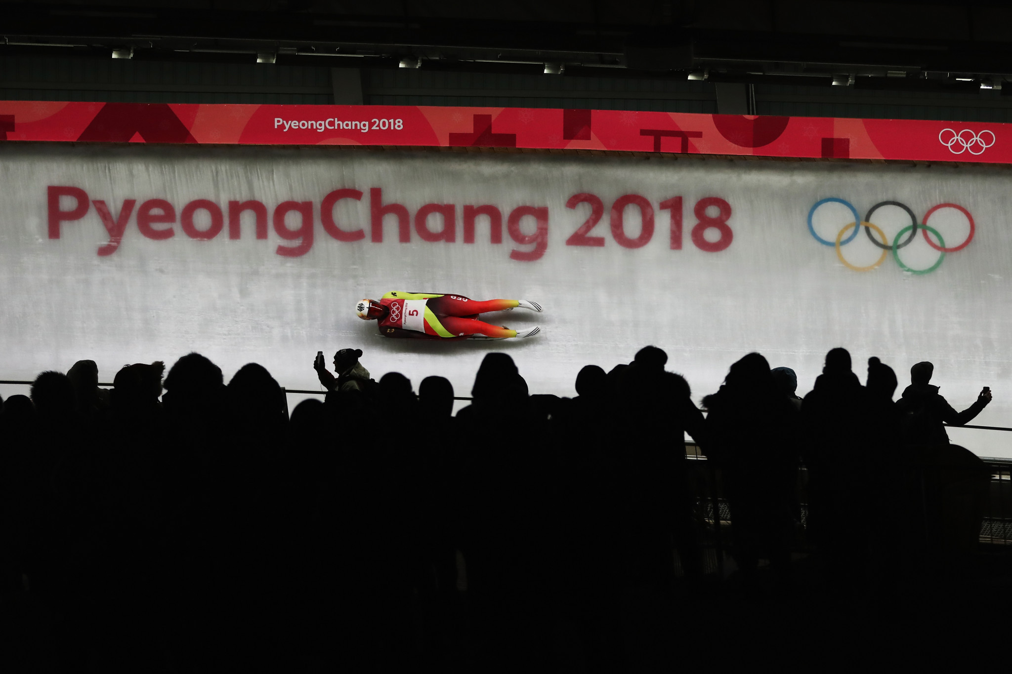 Dajana Eitberger was the singles silver medallist at the Pyeongchang 2018 Winter Olympic Games ©Getty Images