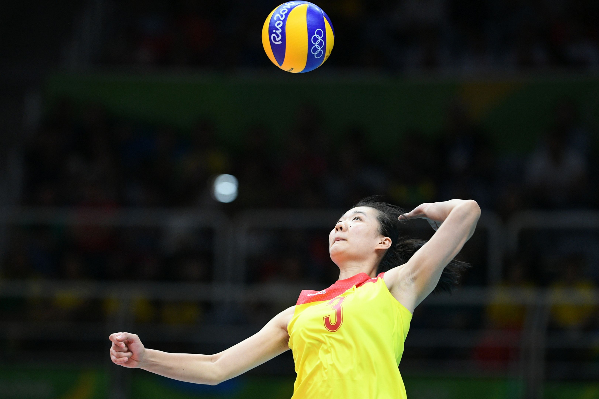 Chinese volleyball player Yang Fangxu has been given a four-year doping ban ©Getty Images