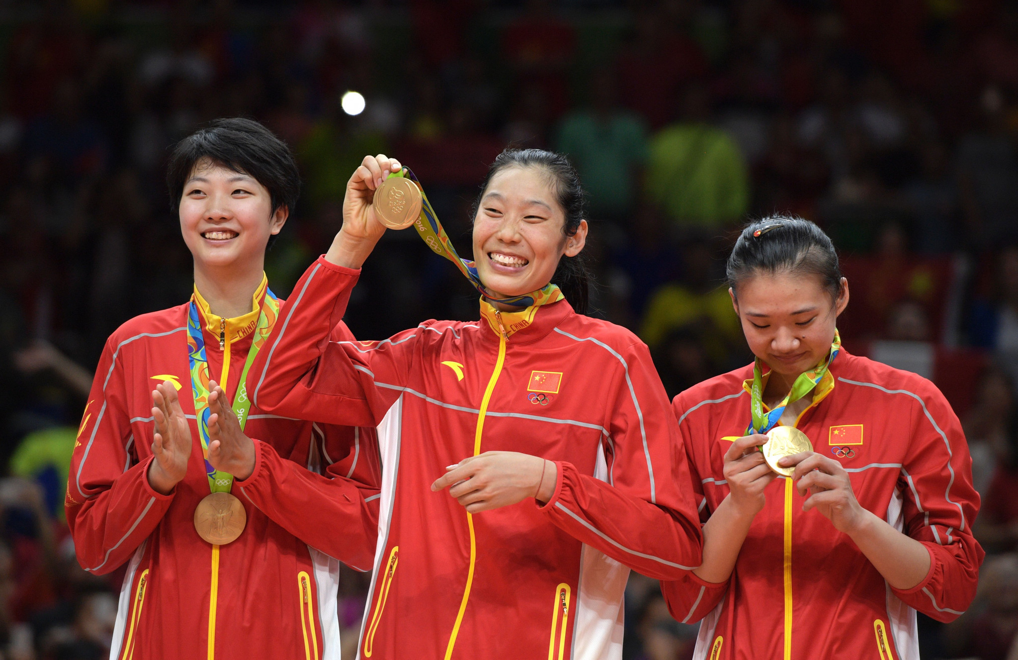 Yang Fangxu was a member of the Chinese team which won the gold medal at Rio 2016 ©Getty Images