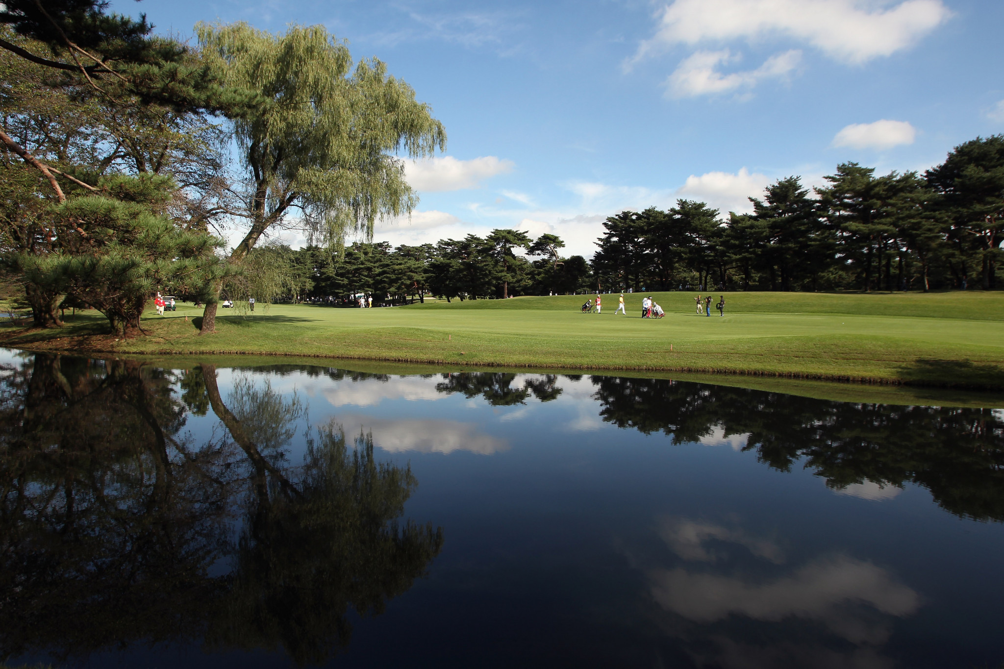 Tokyo 2020 golf course set to be put to test with hosting of Japan Junior Championship