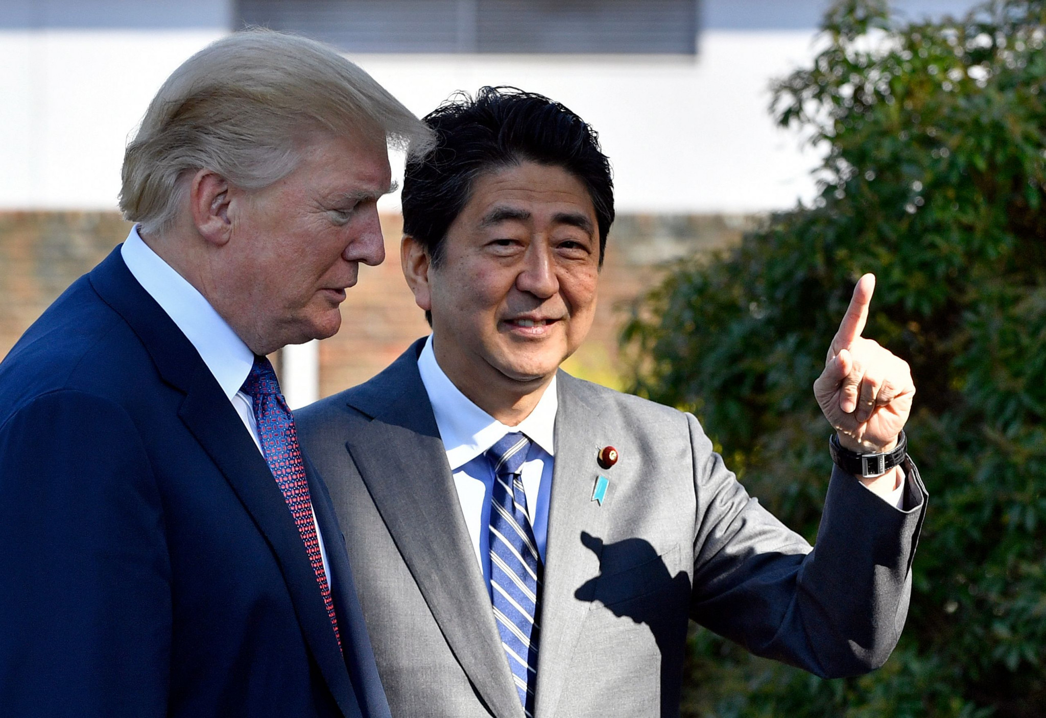 In November 2017, United States President Donald Trump and Japanese Prime Minister Shinzō Abe played a round of golf at the Kasumigaseki Country Club ©Getty Images