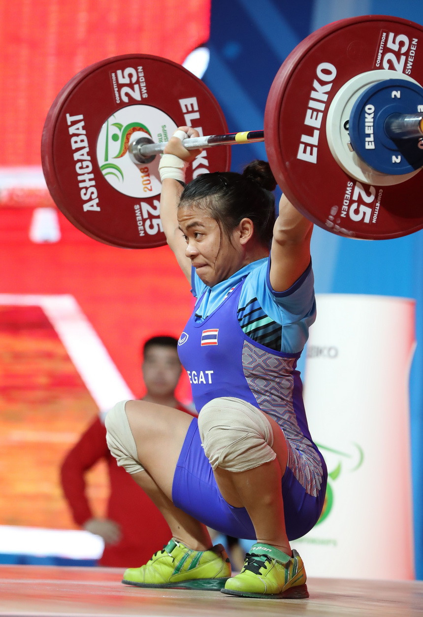 Nine Thai weightlifters tested positive for banned drugs at last year's IWF World Championships in Ashgabat ©IWF