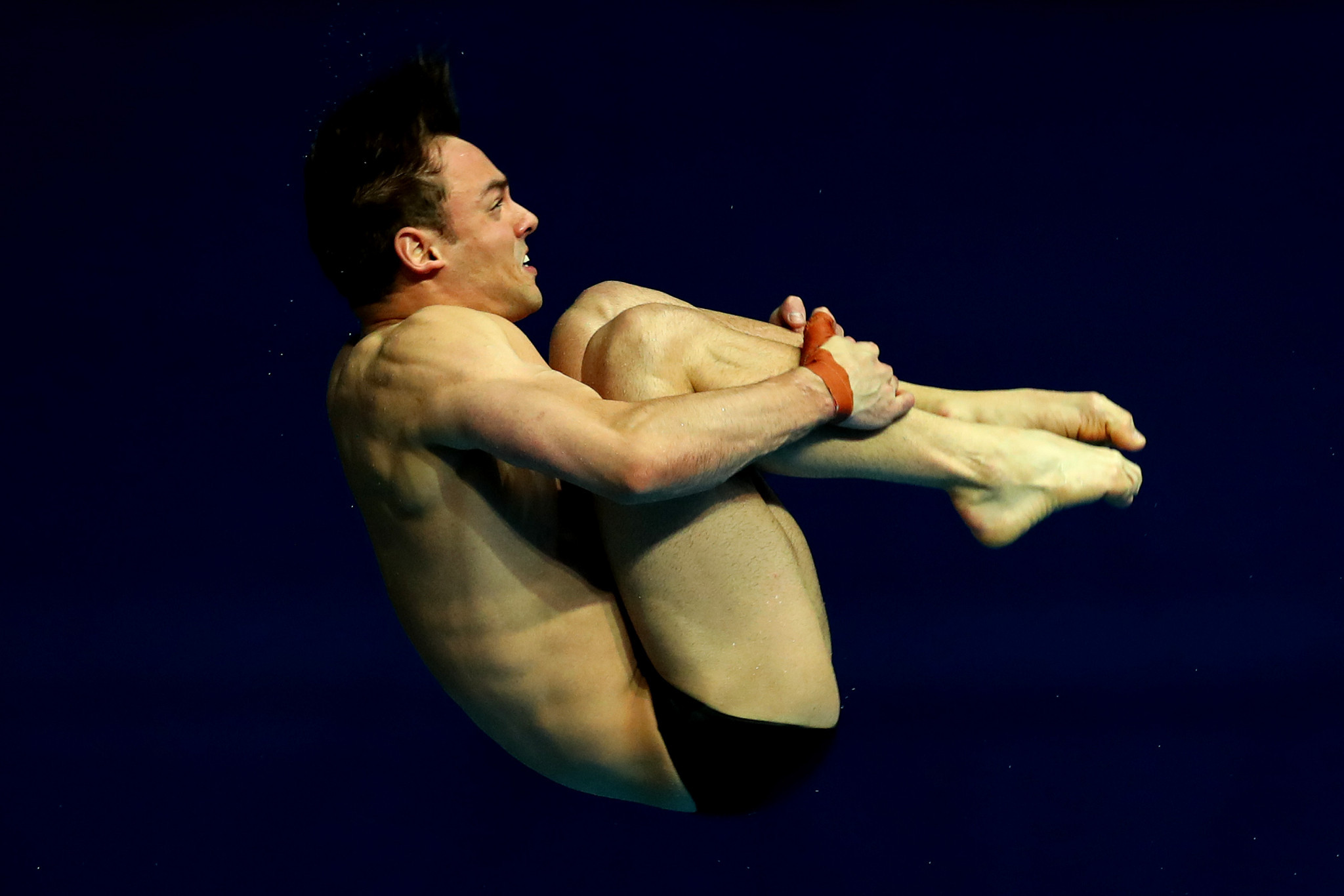 British diver Tom Daley won World Championships bronze in the men's 10m synchro final alongside Matt Lee last month ©Getty Images
