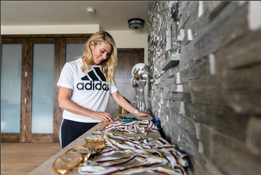 American Alpine skiing star Mikaela Shiffrin has joined Adidas ©Adidas