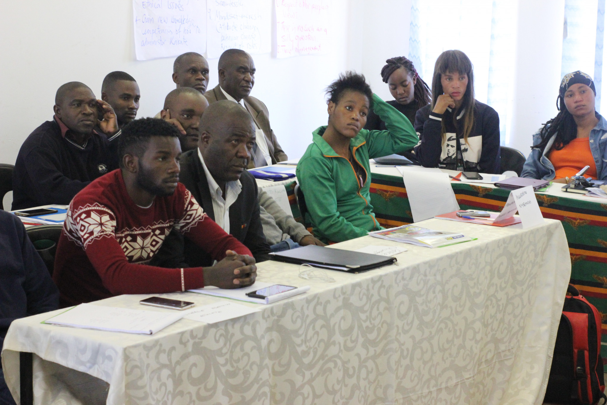 National Olympic Committee of Zambia hosts martial arts workshop