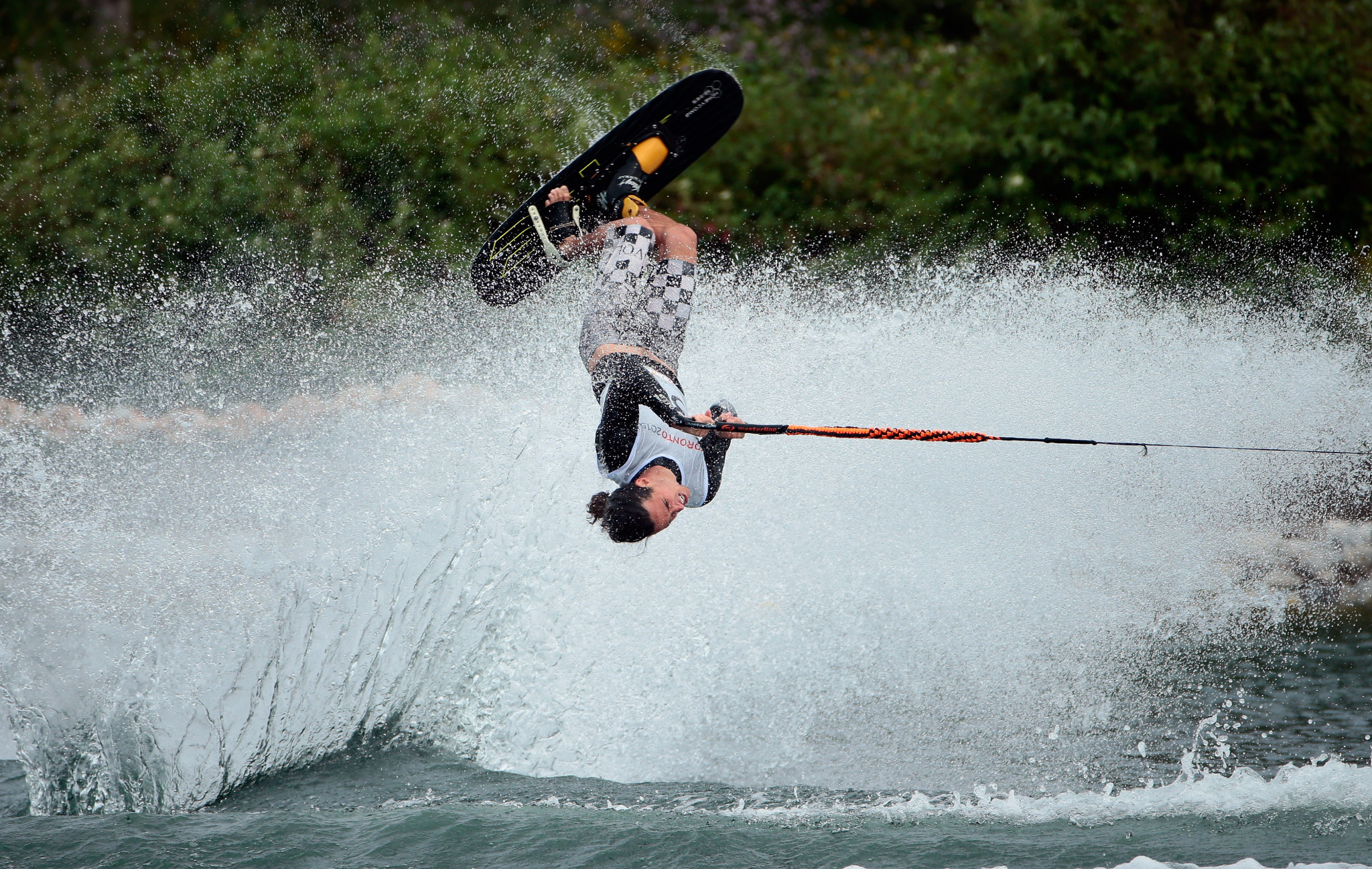 Adam Pickos of the United States is defending his men's tricks title in Malaysia ©Getty Images