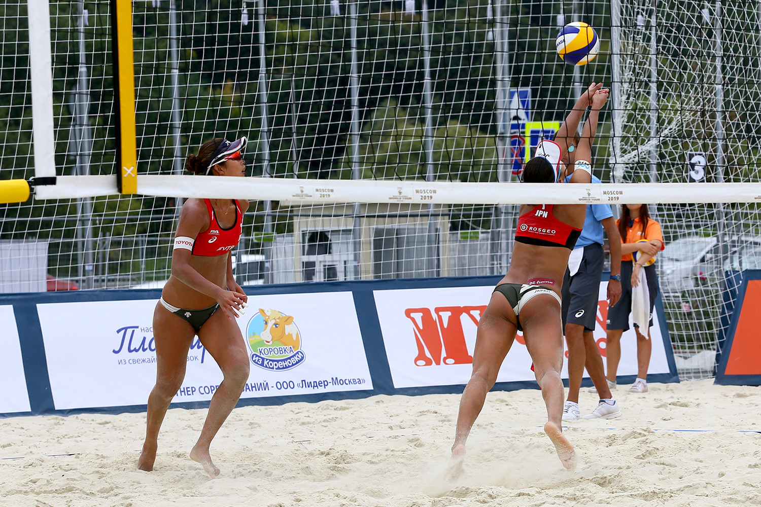 Japanese pair reach women's main draw at FIVB Beach World Tour in Moscow