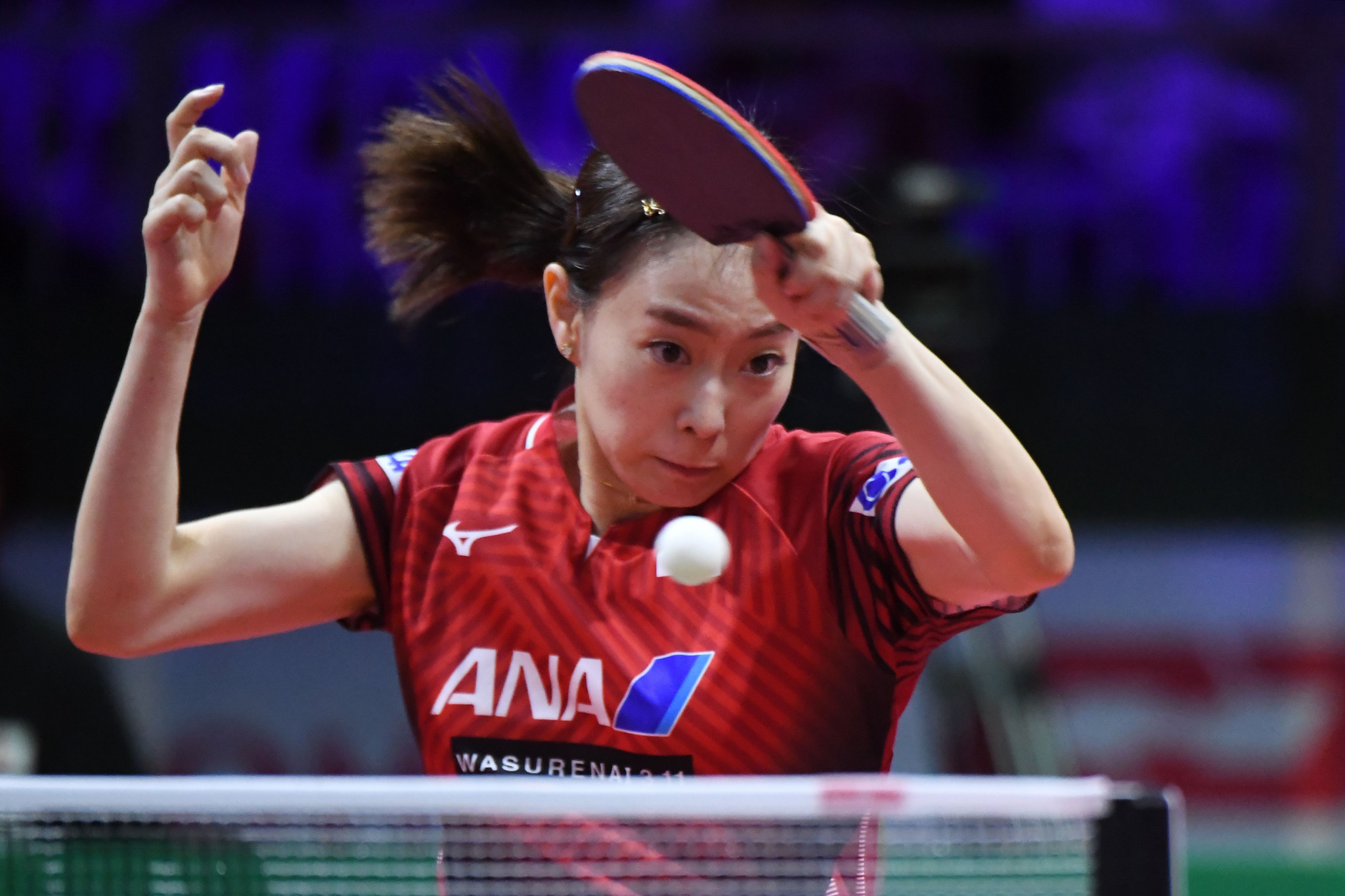Top seed Kasumi Ishikawa of Japan will meet Portugal's Shao Jieni in the first round of the women's singles event ©Getty Images
